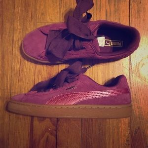 🎀Puma Suede Bow Sneakers🎀